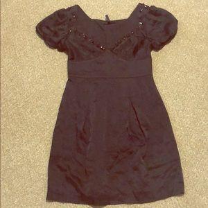 BCBGMAXAZRIA Ouff Sleeve Dress